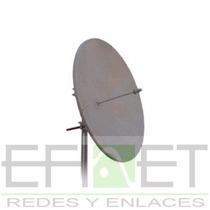 Antena Parabólica De Disco 4.9 A 5.8 Ghz De 29 Dbi Efinet
