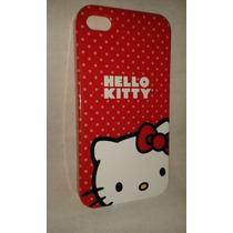 * Carcasa Protectora Hello Kitty Para Iphone 4s O 4g