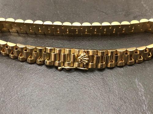 muy elogiado promoción profesional Pulsera Esclava Rolex De Oro Macizo 14k 20cm 33.3g en venta ...