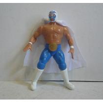 Mil Mascaras - Luchador De Plastico - Muñeco Lucha Libre