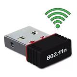 Antena Red Wifi Usb Nano 200 Mts 150mbps