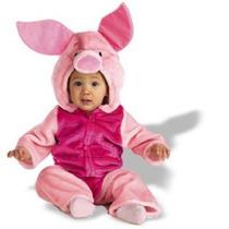 Disfraz De Piglet Winnie Pooh Para Bebes, Envio Gratis