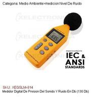 Medidor Digital De Presion Del Sonido Y Ruido En Db (130 Db)