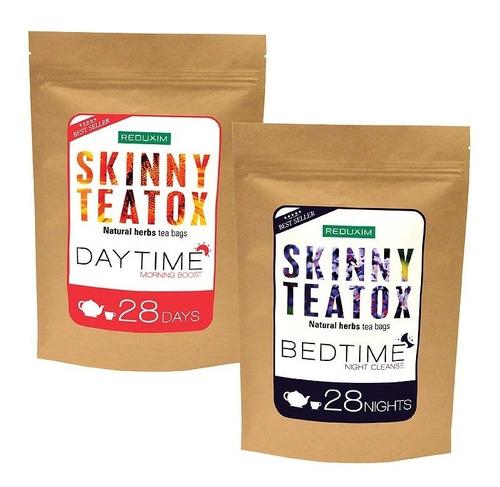 Reduxim Skinny Teatox Té Detox Día Y Noche Original