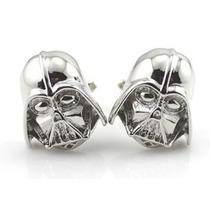 Mancuernillas Darth Vader Star Wars Plateado Acero Gemelos