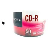 Sony Cd-r 80 Min 50 Pzas  Leer Descripción