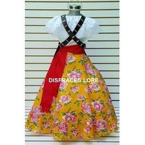 Vestuario Disfraz Adelita Traje Vestido Niñas En Venta En