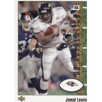 2001 Ud Authentics Jamal Lewis Baltimore Ravens