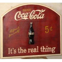 Rotulo De Coca Cola Para Bares, Pubs, Cantinas,billares,casa