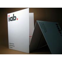 Folder Impreso Offset Corporativa Papeleria