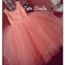 Vestido Tul - Presentacion - Varios Colores - Nuevos !!!!!