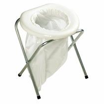 Inodoro Baño Wc Plegable Portatil Para Campismo