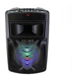 Bafles Amplificados 8 Pulgadas Bluetooth Microfono 1081