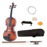 Violin Mendini 4/4 Clasico Mv300 Con Accesorios Envio Gratis