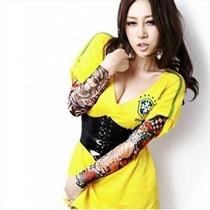 Oferta Lote De Mangas Surtida Tatuajes Tattos Coleccion Vbf