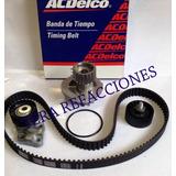 Kit Distribucion Con Bomba De Agua Chevrolet Aveo,g3 E-tecll