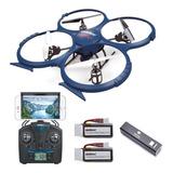 Discovery Drone Udi Rc U818a Wifi Hd + Camara En Vivo Nuevos