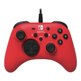 Control Joystick Hori For Switch Rojo
