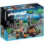 Playmobil 6041 Caballeros Lobo Y Catapulta Medieval Retromex