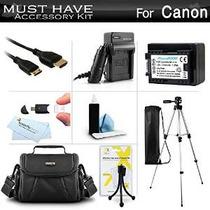 Debe Tener Kit De Accesorios Para Canon Vixia Hf R52, Hf R50