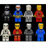 Set A2 Iron Man 2015 Marvel Dc Compatibles Con Lego