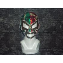 Wwe Cmll Aaa Mascara De Dr Wagner Jr. Tricolor P/niño.