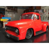 Camioneta For 100 A Escala 1:24 Modelo 1956 Colletion