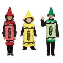Disfraces De Crayola Para Niñas, Niños Y Bebes, Envio Gratis