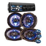 Autoestereo Soundstream + 4 Bocinas 6.5 Y 6x9 Mp3