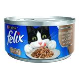 Alimento Para Gato Felix Filetes De Pavo Con Queso 156 G