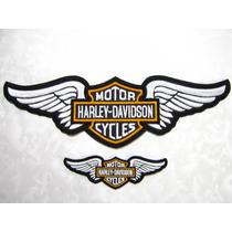 Harley Davidson Escudo Bordado Para Chamarra, Parches Motos