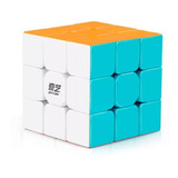 Cubo Rubik 3x3 Qiyi Warrior W Stickerless Lubricado