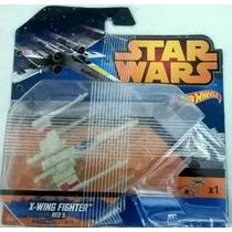 Hot Wheels Star Wars X-wing X-wing Fighter Red 5 Nuevo Sella