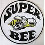 Dodge Super Bee Logo Letrero Anuncio Retro Vintage Poster