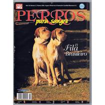 Revista Perros Pura Sangre Fila Brasileiro Febrero 2002