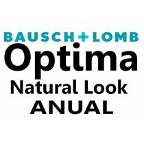 Pupilentes Optima Natural Look Bausch & Lomb Anual (un Año)