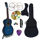 Guitarra Acustica Tercerola Infantil Paquete Con Accesorios