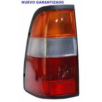 Calavera Luv Doble Cab 97-01 Rojo/blanco/ambar C/arnes Izq