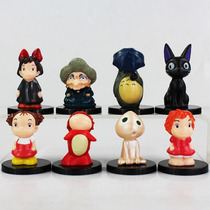 Coleccion De Figuras Del Studio Ghibli Totoro, Ponyo, Chihir