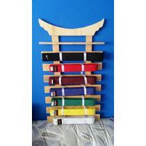Porta Cintas De Artes Marciales Taekwondo Karate Y Más