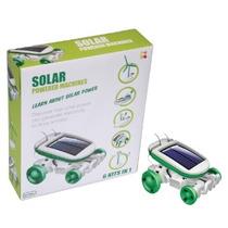 Solar Robot De Alimentación - 6 En 1 Máquinas Powered Kit
