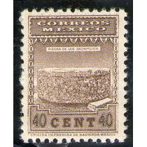 México, Piedra De Tizoc 40c 1934