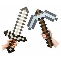Minecraft Foam Sword & Pico Combo Set De 2