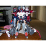 Optimus Prime Armada Jetfire Overload
