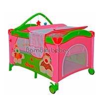 Cuna Corral Baby Buggy Con Sistema De Viaje, Varios Colores!