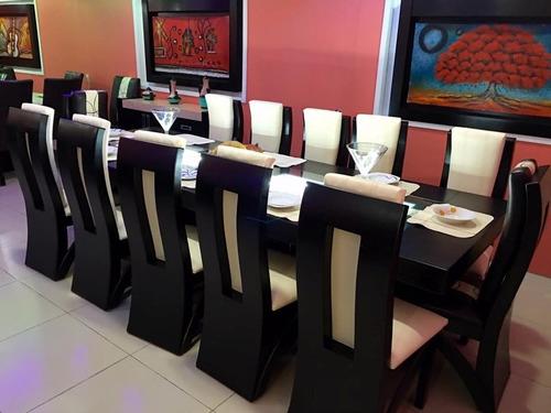 comedor sillas rectangular moderno comedores