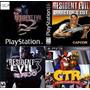 Resident Evil 1, 2, 3 Y Crash Team Racing Ctr Para Ps3