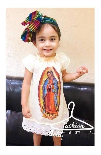 Vestido Virgen De Guadalupe Diadema Envio En Venta En