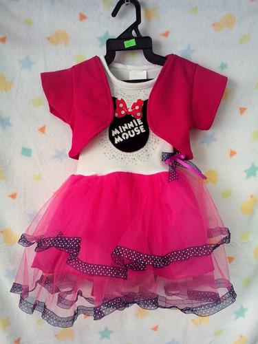 75c5dd9f4 Vestido Mimi Minnie Mouse 2 - 4 Y 6 Años Fucsia en venta en ...