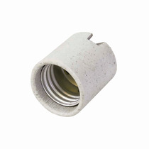 Portalámpara De Porcelana Soporte Tipo Niple 250v Surtek 136